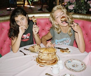 food, friendship, and goals image