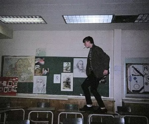 grunge, boy, and school image