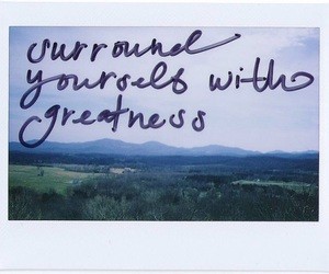 quote, greatness, and life image