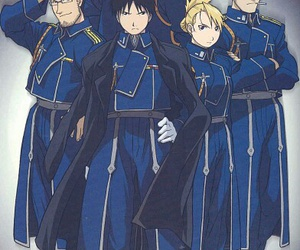 fullmetal alchemist, anime, and roy mustang image