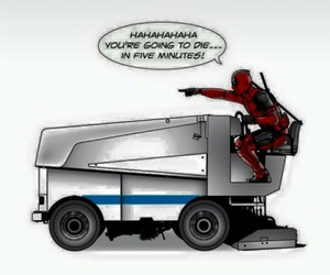deadpool, funny, and Marvel image
