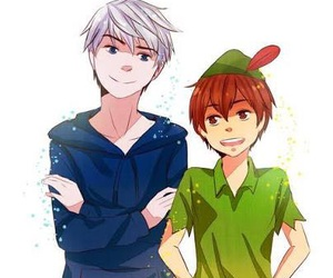 jack frost, peter pan, and nouis️ image