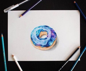 donuts art and drawing image