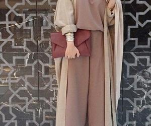 beauty, classe, and hijab image