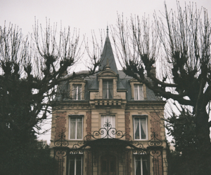 haunted, house, and mansion image