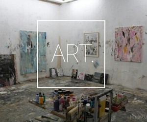 art, grunge, and painting image