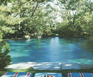 home, oasis, and pool image