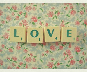 love, vintage, and flowers image