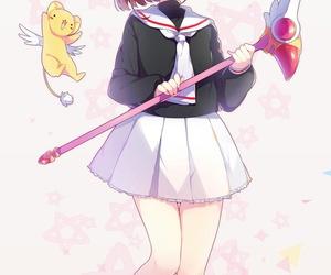 sakura card captors, anime art, and magical girl image