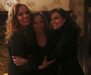 once upon a time, cora, and lana parrilla image