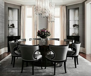 home, beautiful, and dining room image