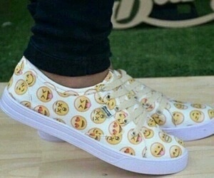 shoes, vans, and emoji image