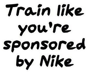 nike, fitness, and train image