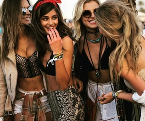 coachella, girls, and models image