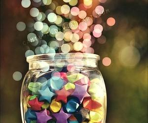 stars, light, and jar image