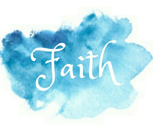 blue, faith, and god image