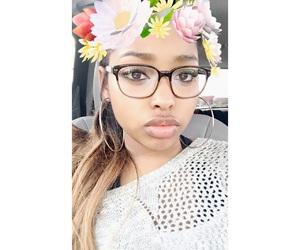 big lips, black, and black girl image