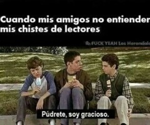 book, amigos, and chistes image