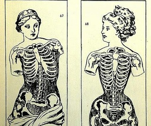 corset, body, and woman image