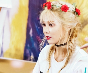 hyuna, girl, and kpop image
