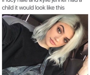 lucy hale, kylie jenner, and fatherkels image