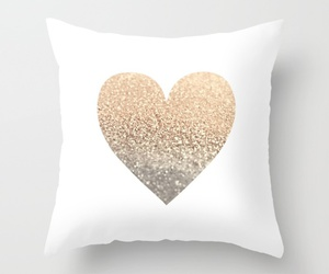 pillow, cute, and bed image