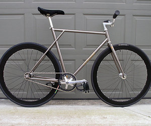 bike, fixed gear, and fixie image