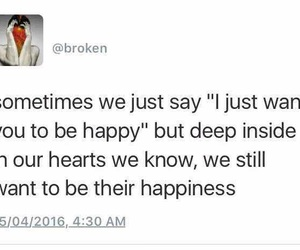 breakups, broken, and happiness image