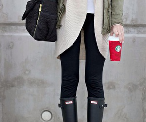 style, outfit, and winter image