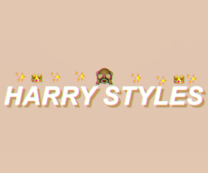 background and Harry Styles image