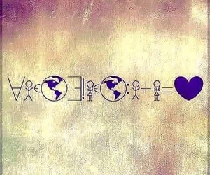 love, world, and heart image