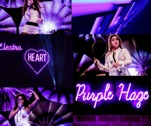 colorful, neon, and purple neon image