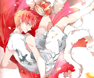 illustration, anime boy, and bishie image