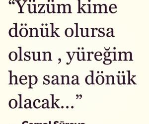 ask, cemal süreya, and türkçe sözler image