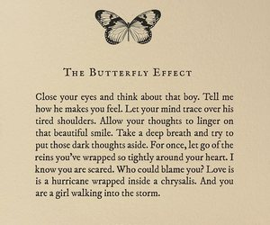 Lang Leav, quotes, and the butterfly effect image