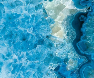 blue, crystal, and texture image