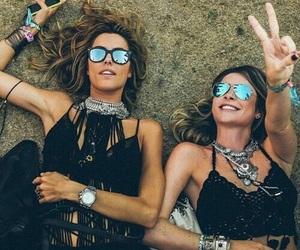 friends, summer, and coachella image