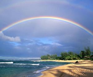 beach, ocean, and heaven image