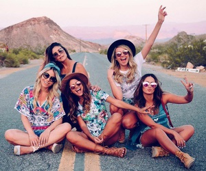 friends, friendship, and travel image