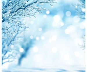 blue, snow, and winter image