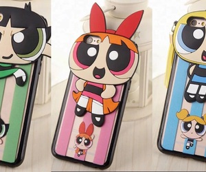 cool, the power puff girls, and iphone case image