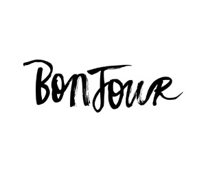 quotes, text, and bonjour image