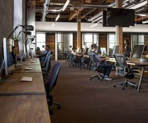 design, interior, and office image