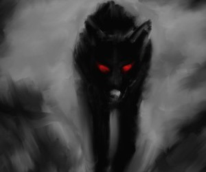 drawings and wolfs image