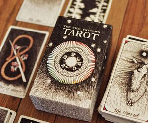 tarot, magic, and cards image