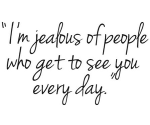 jealous, love, and quote image