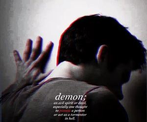 teen wolf, demon, and dylan o'brien image