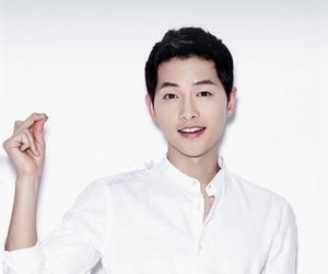 song joong ki, boy, and dots image