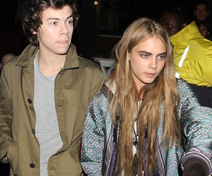 Harry Styles, cara delevingne, and couple image