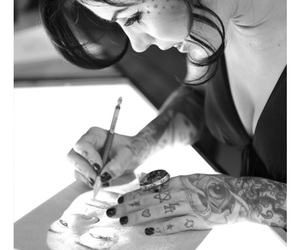 kat, kat von d, and tattoo image